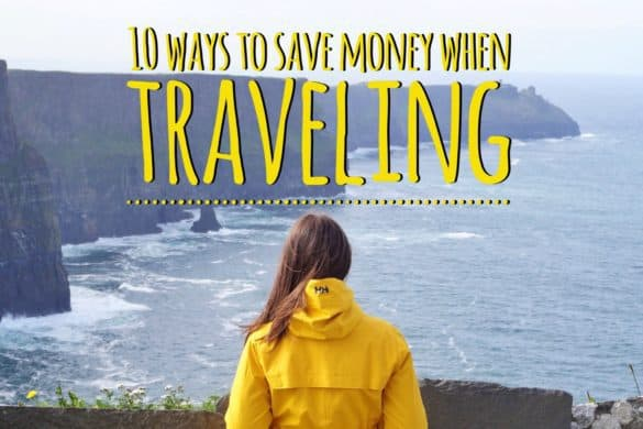 10 ways to save money when traveling