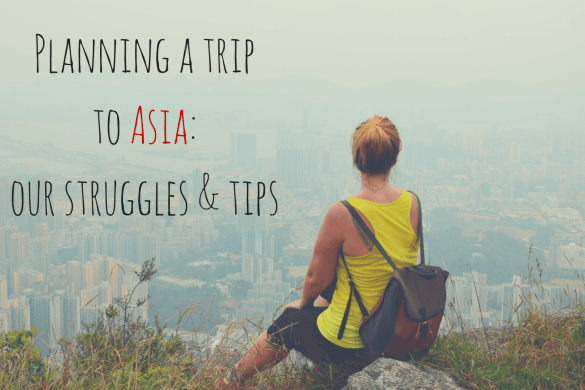 planning a trip to asia
