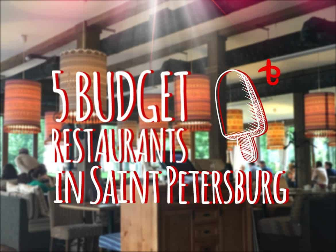 Places to eat in St. Petersburg