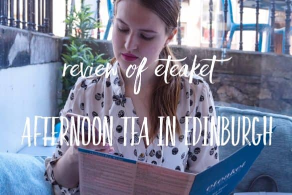 Afternoon Tea in Edinburgh - Eteaket Tea Room