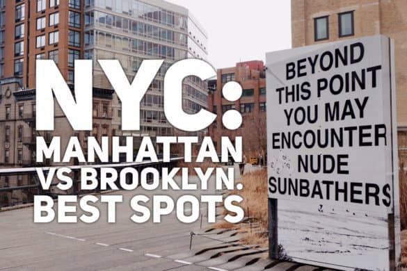 Manhattan vs Brooklyn - great spots to visit in NYC | Tripsget