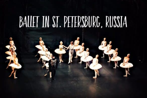 St. Petersburg ballet - where to see ballet in Russia
