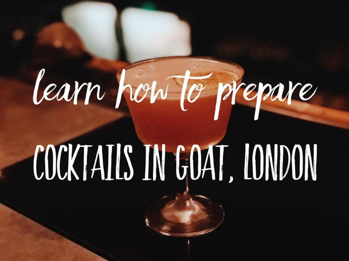 Hemingway inspired cocktail making class in a secret bar in London