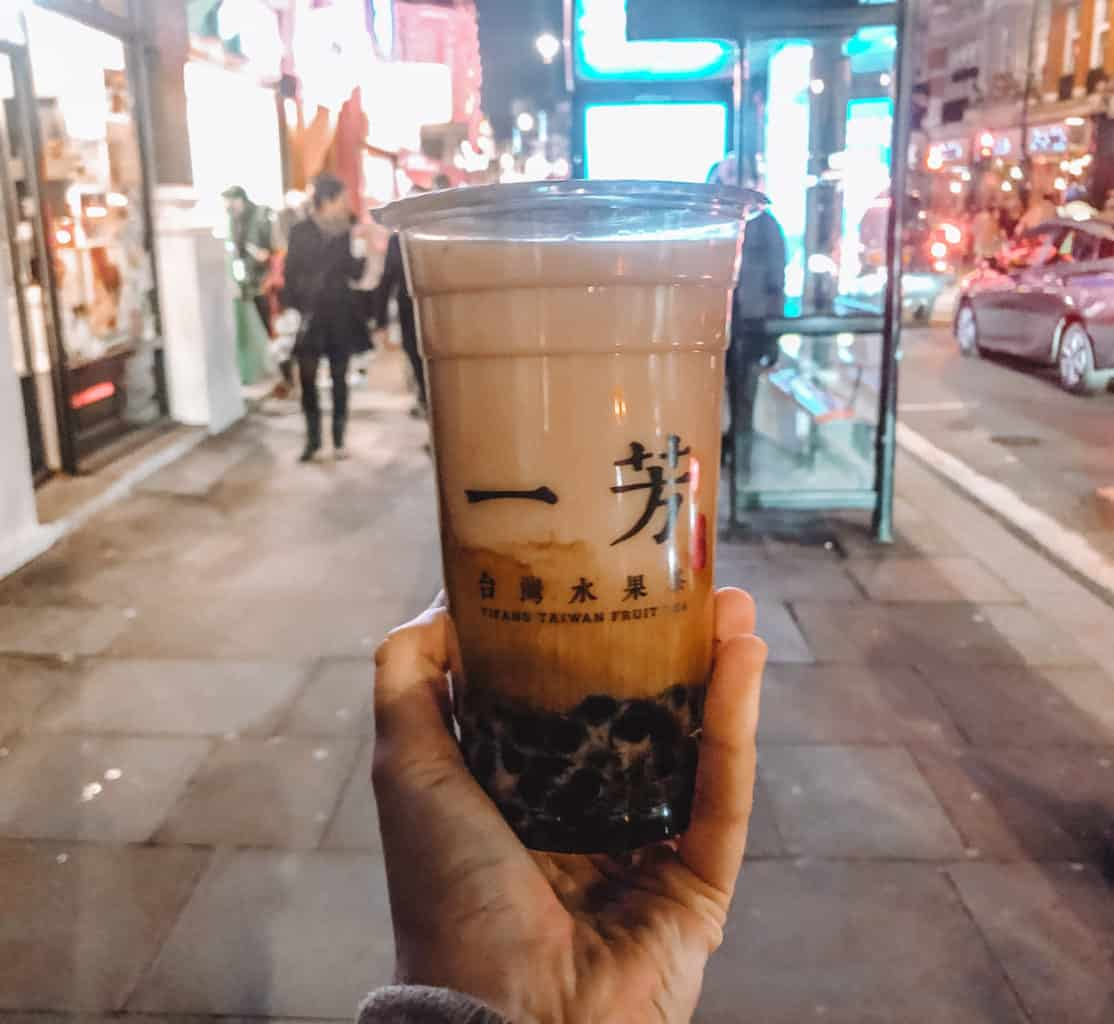 What's the Best Bubble Tea in London? Trying 10 Different