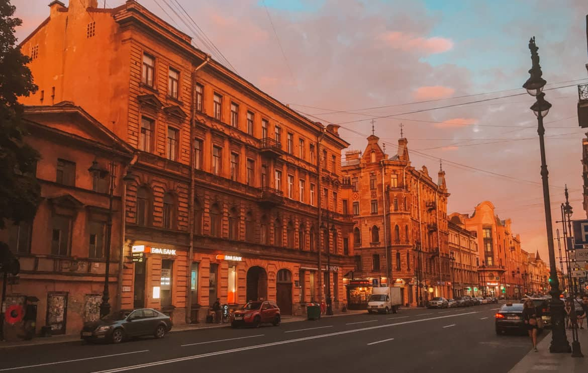 Best areas to stay in St. Petersburg, Russia recommended by a local