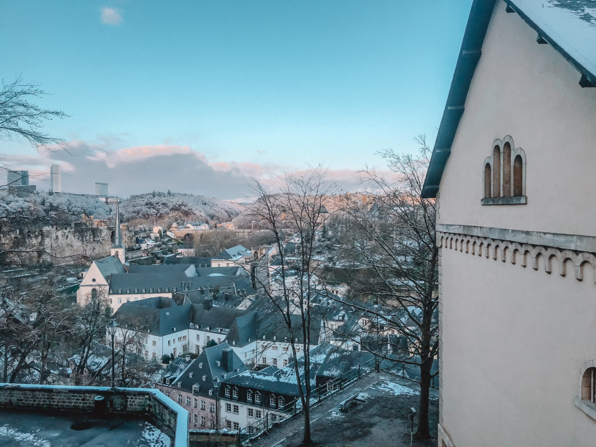 Luxembourg in winter - things to do