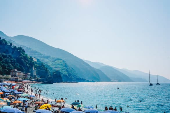 Where to swim near Pisa and Florence in Italy & Best beaches in Cinque Terre