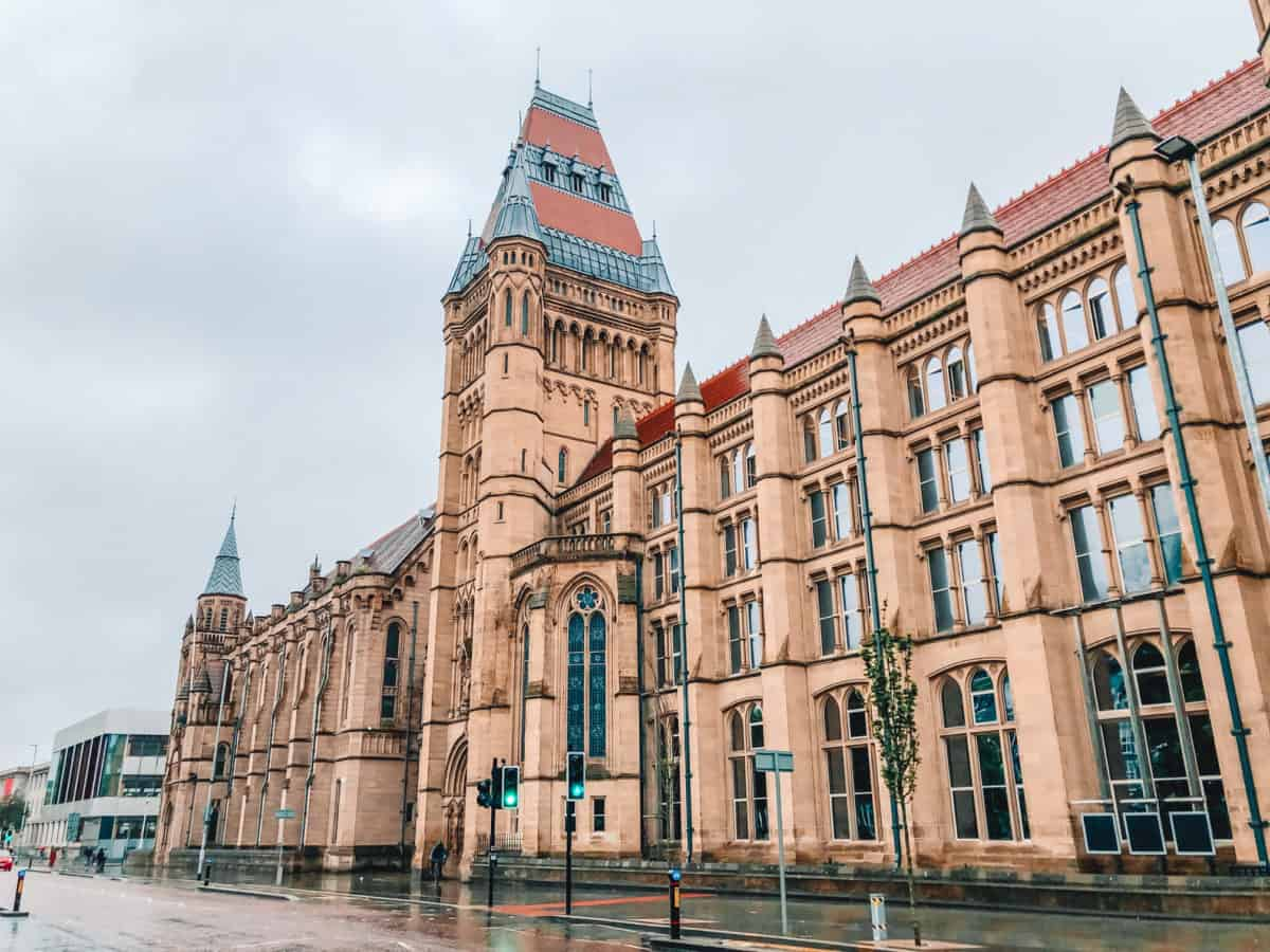 2 days in Manchester - the university