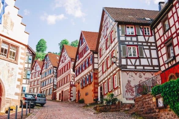 Road trip: Rhine Valley and Alsace in 3 days (Visit Germany & France)