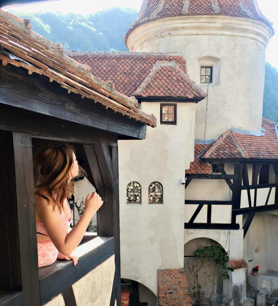 Bran castle in Romania one of the most Instagrammable castles in Europe