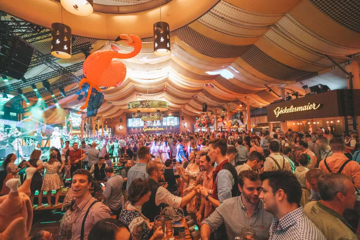 one of the best beer festivals in Germany that is also probably the best alternative to Oktoberfest in Munich - incredible Cannstatter Wasen!